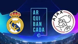 REAL MADRID X AJAX (NARRAÇÃO) - CHAMPIONS LEAGUE