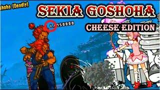 (CHEESE) Sekia Goshoha      New Challenger (vs Akuma) - The Battle Cats SFVAE Collaboration
