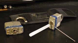Lock Picking a Master Lock No.3 and No.21