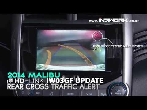 HD-LINK IW03GF for 2014 Malibu Rear(Rear Cross Traffic Alert System) View System  by 인디웍 indiwork