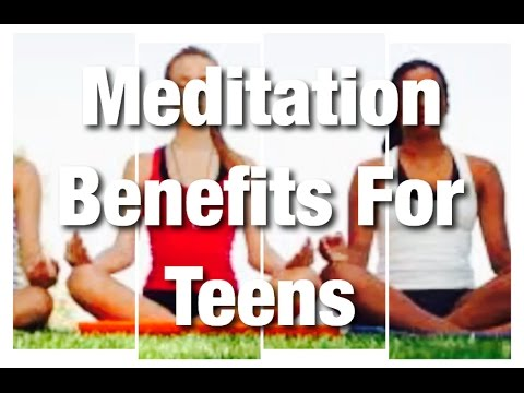Finding Peace and Relaxation For Teenagers Through Meditation l Understanding The Teenage Years