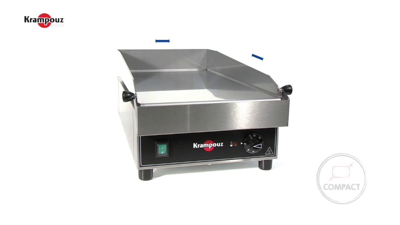 Plancha Gaz Vs Electrique professional electric griddle plate depth model krampouz