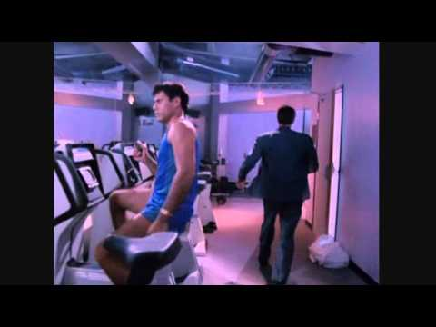 Gym Scene from cult film Miracle Mile (1988) spandex lycra