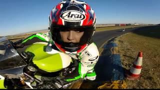 GoPro HD:  AMA Pro Road Racing – Shelina Moreda Test Ride