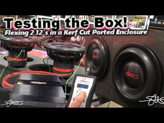 testing-the-box-2-smd-12-subwoofers-flexing-hard-1-russian-baltic-birch-kerf-cut-ported-enclosure