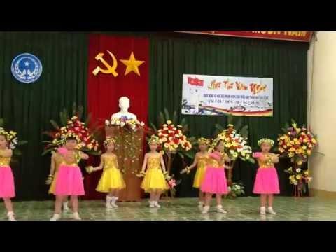 Múa Lời Chào Của Em Lớp 1D Trường Bùi Thị Xuân