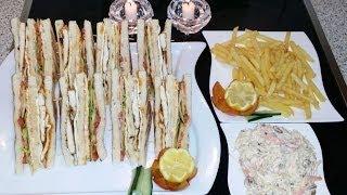 Club Sandwich کلب سینڈوچ  Cook With Saima