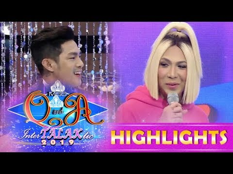 It's Showtime Miss Q & A: Kuya Escort Ion expresses his gratitude to Vice