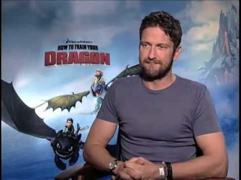 Gerard Butler (How to Train Your Dragon) Interview