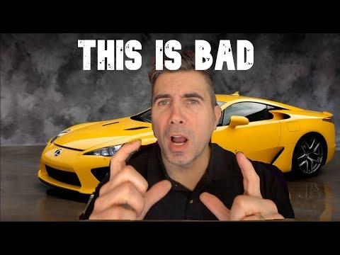 Lexus Car News - The End Of Lexus Reliability?