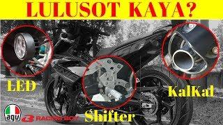 Pa rehistro Motor sa LTO l Shifter l KalKal l LED LIGHT l Motovlog l EP 38
