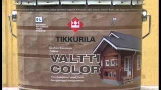 Защита деревянных фасадов антисептиков Тиккурила(, 2012-02-14T16:53:11.000Z)