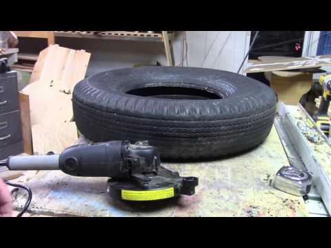 Cutting Tires In Two