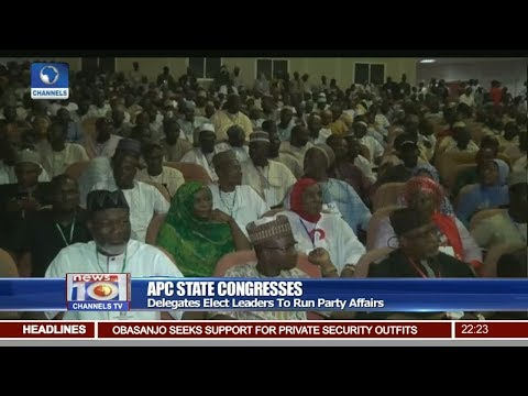 How Successful Is The APC Congresses Held Across Nigeria, Analyst Examines 19/05/18 Pt.2 |News@10|