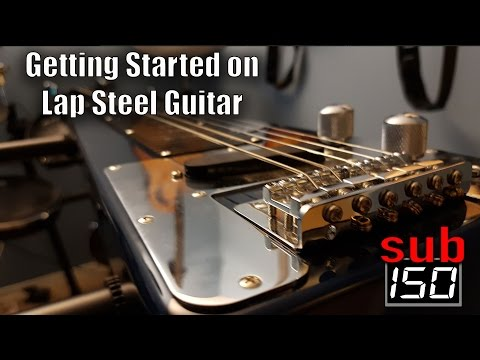 Getting started on lap steel guitar