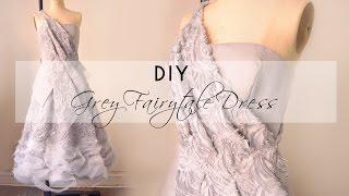 DIY Textured Fairytale Dress