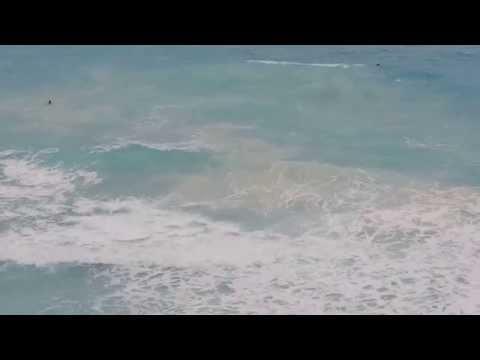 2 men drowning - Cancun Spring Break 2015