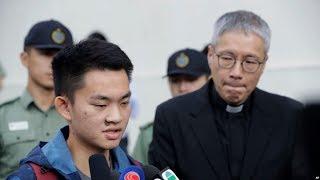 VOA连线(汤惠芸):台湾杀人案疑犯陈同佳出狱鞠躬道歉 港府不接受台湾派员押解