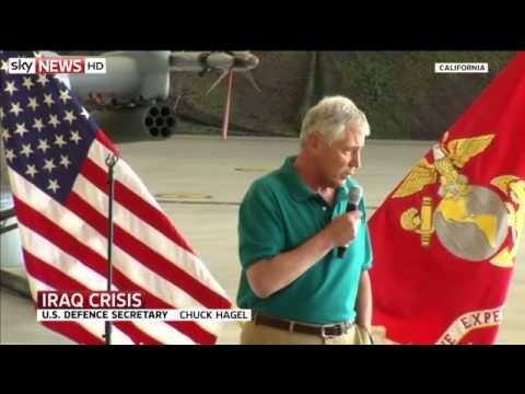 Iraq Crisis: US Sends 130 More Military Advisers    3:44am