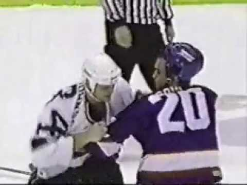 Matt Johnson vs. Tie Domi (4-1-95)