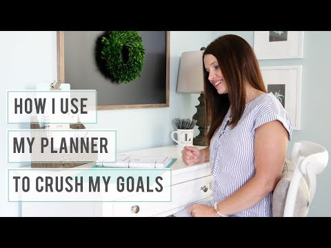 How I Use My Planner to Crush My Goals