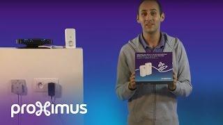 Installer notre Solution Wi-Fi et TV via le réseau électrique (4 témoins lumineux)