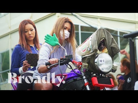The Woman Revving Motorcycles Like Music In Japan