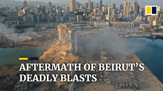 Devastating aftermath of deadly Beirut blasts as Lebanon reports at least 100 dead, 4,000 hurt