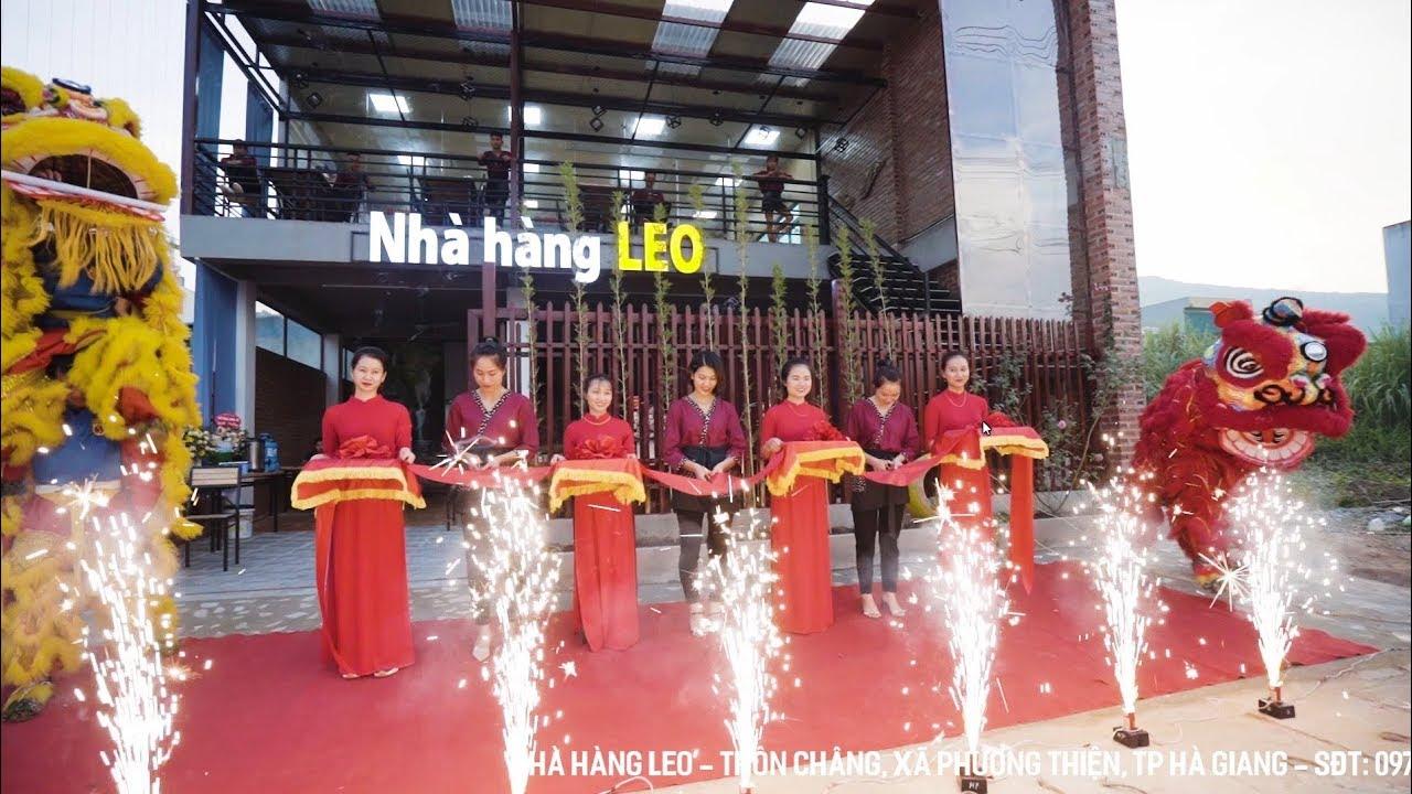 Khai trương Nhà Hàng LEO | Ẩm thực Hà Giang | SLOG MEDIA