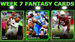 #MUT25 |  New Team Of The Week 7 Cards (TOTW) | MEGATRON, John Abraham, Andy Dalton & More