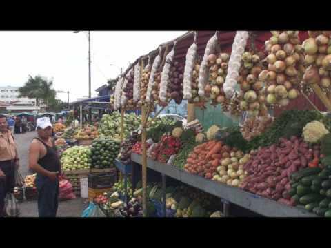 Costa Rica San Jose Market