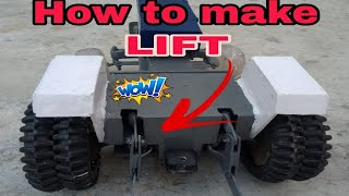 How to make toy tractor Lift 😱. Easy way😎