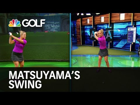 Matsuyama's Swing - Golf Channel Academy | Golf Channel