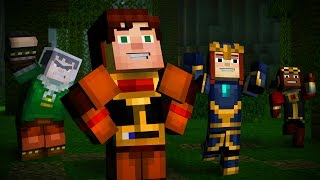 "Minecraft: Story Mode Episode 5 ""Order Up!""  All Cutscenes (Game Movie) 1080p HD"