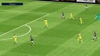 Eden hazard dribbling goal   … pes mobile 2018