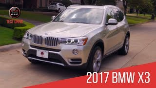 2017 BMW X3 Test Drive