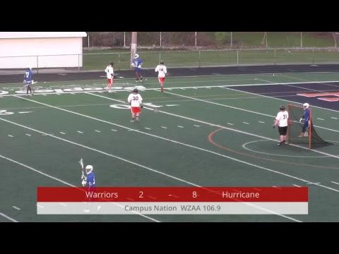 High School Lacrosse - Winton Woods Warriors @ Wilmington Hurricane - 04-27-2018