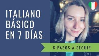 Cómo aprendí italiano básico en una semana  || Aprende idiomas con HI
