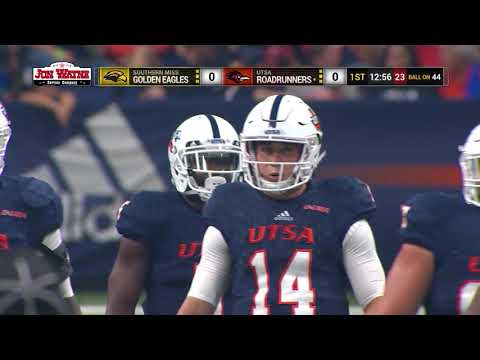 Southern Miss Vs UTSA College Football Oct 7, 2017 On The CityWide Sports Network, Full Game