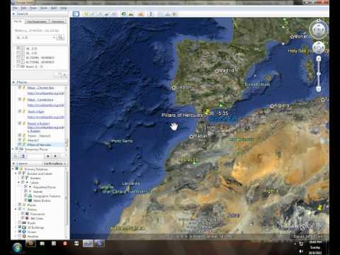 Sunken Atlantis - Google Earth