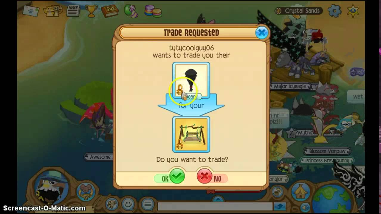 Animal jam trading attempts for porch swing youtube sciox Image collections