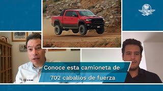 Platicamos con Rafael Paz, director general de RAM en México, quien nos cuenta cómo es que una camioneta de 702 caballos de fuerza ha sido una sensación en nuestro mercado