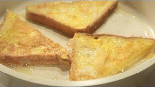 프렌치토스트 만들기 - 간단 요리#1