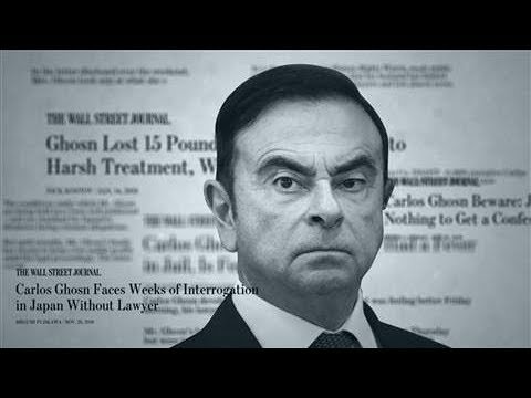 How Japan Keeps Renault's Carlos Ghosn in Jail