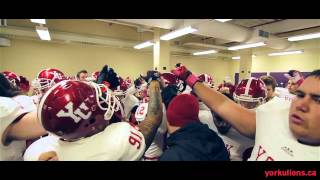 York Lions HIGHLIGHTS | Football vs. Laurier Golden Hawks - Oct. 4, 2014