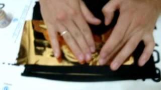 transfer em tecido / mauro tavares / aplicação de foil em tecido
