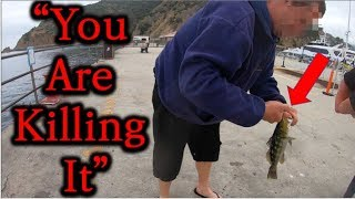 The RUDEST Guy ever. This Random Guy Stole my Fish. Please Watch Until the End.
