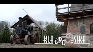 """Senovinės technikos klubas """"Klasika"""" - garo traktorius - steam tractor """"CASE"""""""