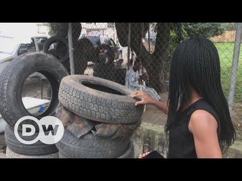 Turning car tires into furniture | DW English