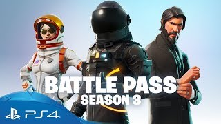 Fortnite Battle Royale | Battle Pass Season 3 | PS4